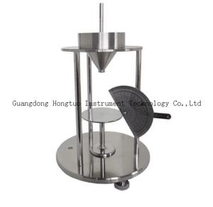 粉末流动性休止角测试仪10cm量角器